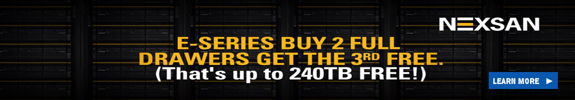 Nexsan E-Series Buy 2 Full Drawers Get The 3rd Free