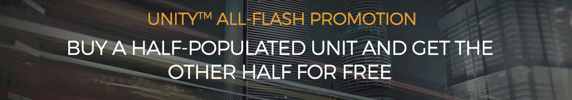 Unity all-flash Promotion
